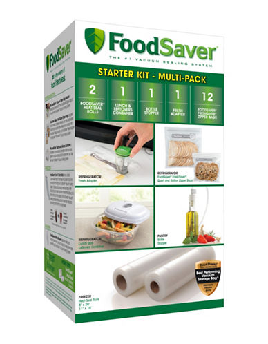 Foodsaver Accessory Starter Kit-CLEAR-One Size
