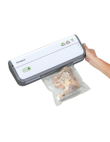 Foodsaver Countertop FM2010 Vacuum Sealing System-WHITE-One Size