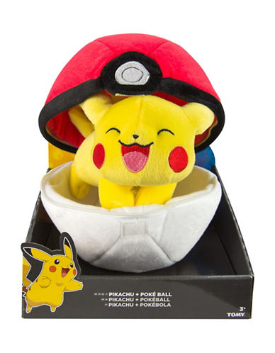Pokemon Zipper Poke Ball Plush-MULTI-One Size