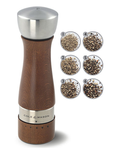 Cole And Mason Oldbury Gourmet Precision Pepper Mill-BROWN-One Size