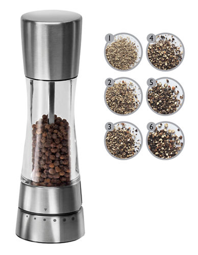 Cole And Mason Derwent Pepper Mill-SILVER-One Size