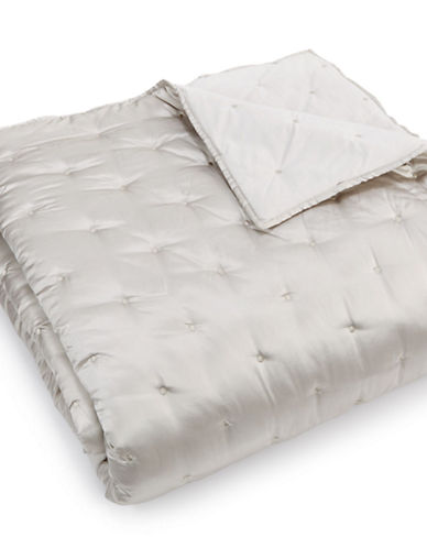 Hotel Collection Silver Tufted Coverlet-SILVER-King
