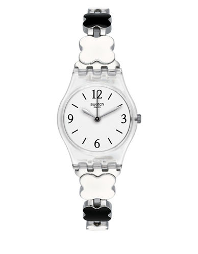 Swatch A Travelers Dream Collection Stainless Steel Watch-SILVER-One Size