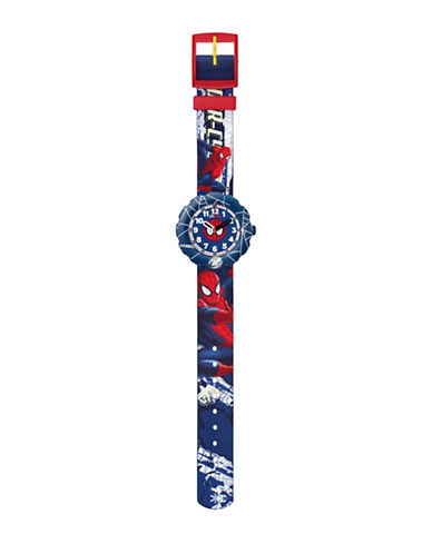 Flik Flak Youth Spider-Cycle Analog Watch-MULTI-One Size