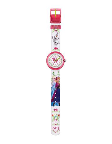 Flik Flak Youth Disney Frozen Analog Watch-MULTI-One Size