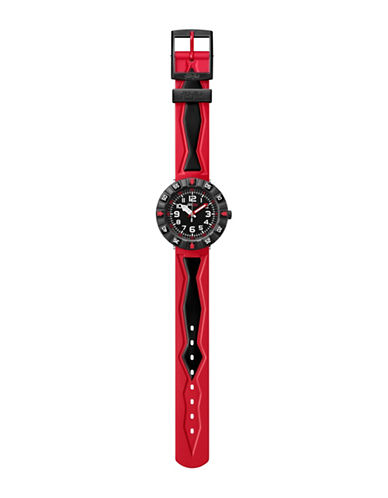 Flik Flak Youth Rosson Power Time Analog Watch-MULTI-One Size