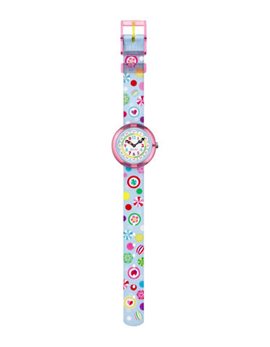 Flik Flak Sugar Bunchy Analog Strap Watch-MULTI-One Size