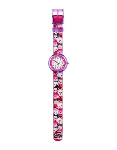 Flik Flak Disney Tsum Tsum Analog Strap Watch-PINK-One Size
