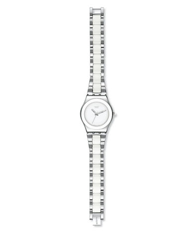 Swatch Tresor Blanc Stainless Steel Watch-WHITE-One Size