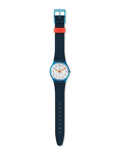Swatch Analog Archi-Mix Back To School Silicone Watch-BLUE-One Size