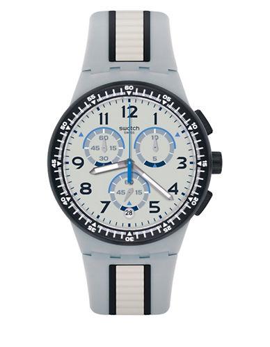 Swatch Chronograph Mirkolino Silicone Strap Watch-MULTI-One Size