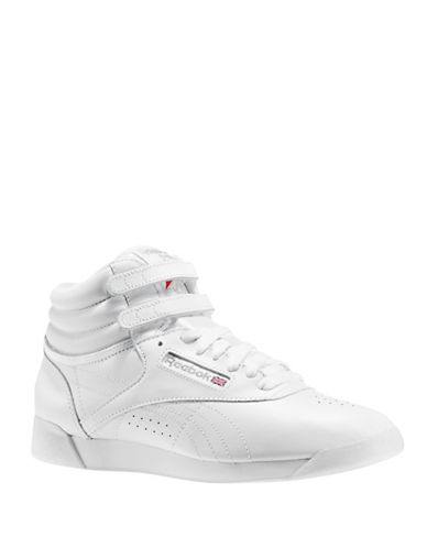 Reebok Freestyle Leather Sneakers-WHITE-8