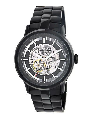 Kenneth Cole New York Mens Automatic Watch-BLACK-One Size