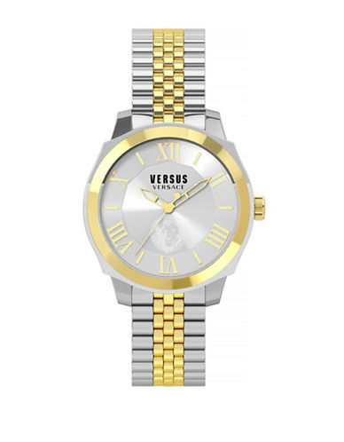Versus Versace Chelsea Two Toned Stainless Steel Watch-TWO TONE-One Size