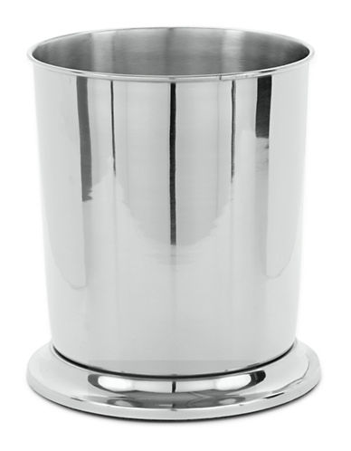 Mon Tex Metal Waste Basket-CLEAR-One Size