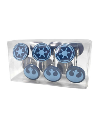 Mon Tex Classic Star Wars Shower Curtain Hooks-MULTI-One Size