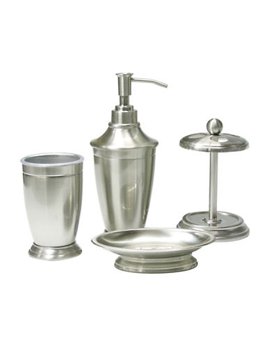 Mon Tex Four-Piece Classic Accessory Set-NICKEL-One Size