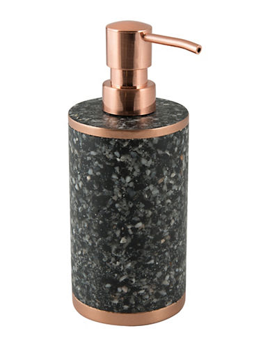 Mon Tex Terra Stone-Effect Lotion Pump-BLACK-One Size