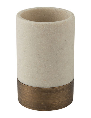 Mon Tex Dany Stone-Effect Tumbler-BEIGE-One Size
