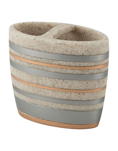 Mon Tex Astra Stone-Effect Toothbrush Holder-MULTI-One Size