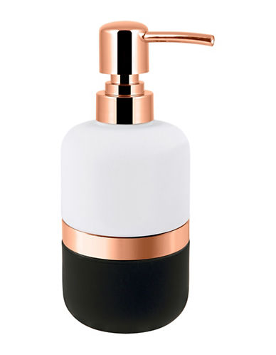 Mon Tex Beacon Lotion Pump-BLACK/ROSE GOLD-One Size