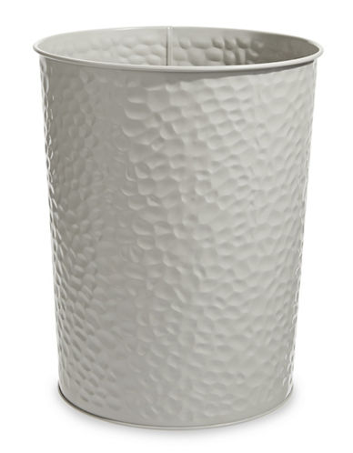 Dh Vibe Hammered Waste Bin-TAUPE-One Size