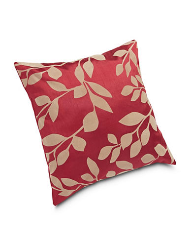 Miscellaneous Flocked Iris Cushion-BRICK-18x18
