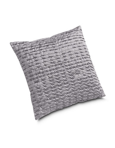 Miscellaneous Pleated Square Cushion-SILVER-18x18