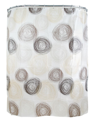 Splash Coil Eco-Peva Shower Curtain-HAZEL-One Size