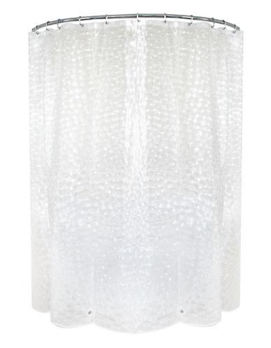 Splash Bubble PEVA Shower Curtain-CLEAR-One Size