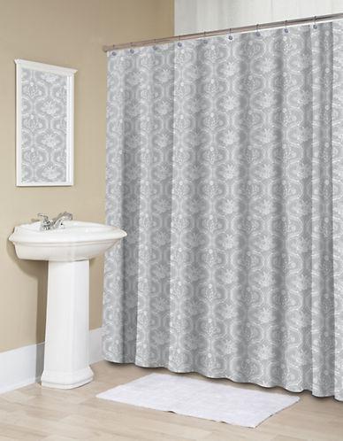 Splash Thalassic Shower Curtain-GREY-One Size