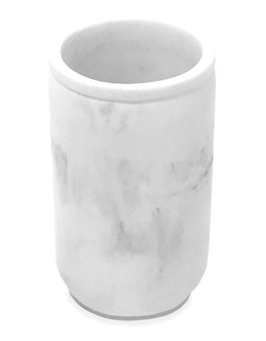 Splash Ceramic Marble Tumbler-GREY-One Size