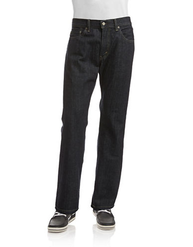 LeviS 559 Relaxed Straight Fit  Tumbled Rigid-DARK BLUE-36X30
