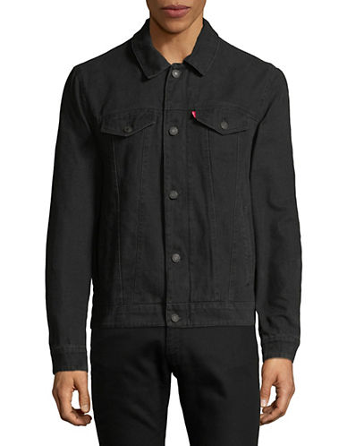 Levi'S Denim Trucker Jacket-BLACK-XX-Large 89865807_BLACK_XX-Large