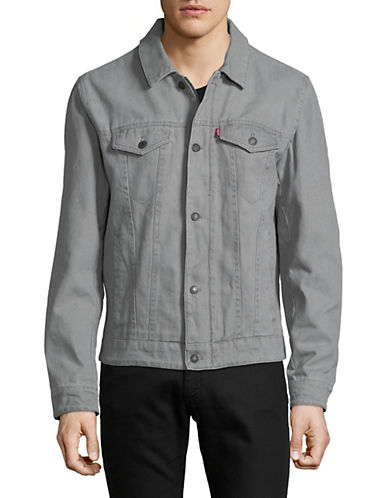Levi'S Denim Trucker Jacket-GREY-Large 89865810_GREY_Large