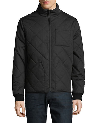 Dockers Quilted Full-Zip Jacket-BLACK-Medium 89874630_BLACK_Medium