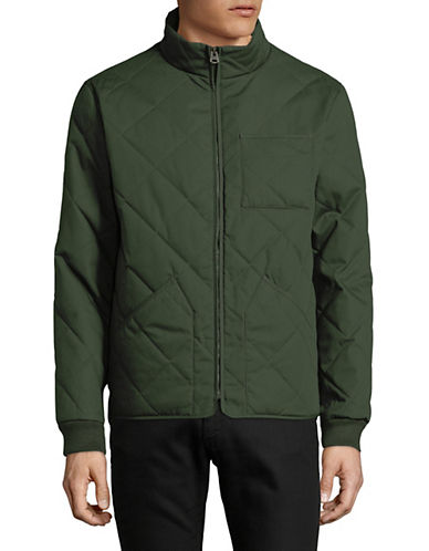 Dockers Quilted Full-Zip Jacket-GREEN-X-Large 89865631_GREEN_X-Large