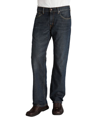 LeviS 559 Relaxed Straight Fit  Range-DARK BLUE-36X30