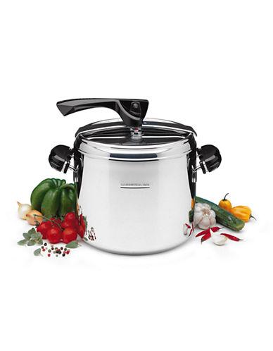 Lagostina Brava Plus 7 L Pressure Cooker-SILVER-One Size