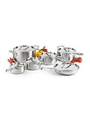 Ustensiles de cuisson cuisine maison marques la - Batterie cuisine lagostina ...