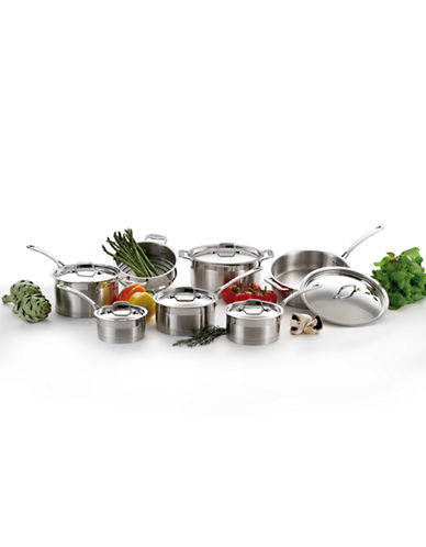 Lagostina Casa Pro 13-Piece Stainless Steel Cookware Set - Induction Ready-SILVER-One Size