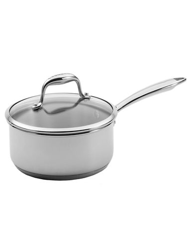 Lagostina Ambiente 14cm Saucepan with cover 1L-STAINLESS STEEL-One Size