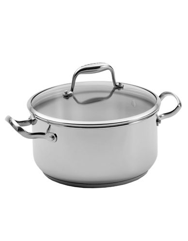 Lagostina Lagostina Ambiente 24cm dutch oven with cover 5.2 L-SILVER-24cm
