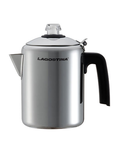 Lagostina Stainless Steel 8 Cup Coffee Percolator 90006831