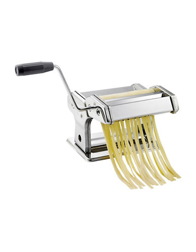 Lagostina Pasta Machine with Ravioli Attachment-STAINLESS STEEL-One Size