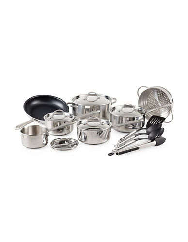 Lagostina Grande Collezione 16-Piece Lagostina Cook Set-STAINLESS STEEL-One Size