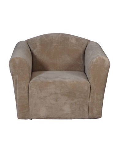 Sure Fit Hanover One-Piece Stretch Chair Slipcover-WALNUT-One Size