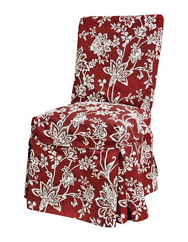 Sure Fit Verona Long Dining Chair Slipcover-BERRY-One Size