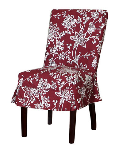 Sure Fit Verona Mid-Length Dining Chair Slipcover-BERRY-One Size