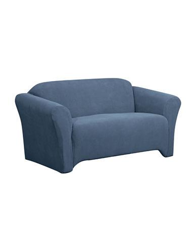 Sure Fit Surefit Dimples Stretch Sofa Slipcover-NAVY-One Size